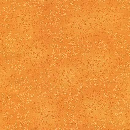Willow Tonal Leaf - Tangerine