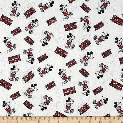Vintage Tossed Mickey Mouse