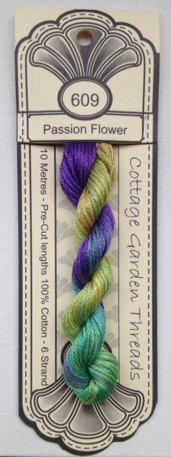 Cottage Garden Threads - 609 - Passion Flower