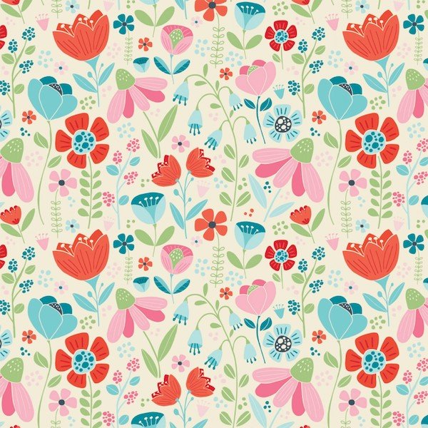 Enchanted Forest - Enchanted Blooms - Cream