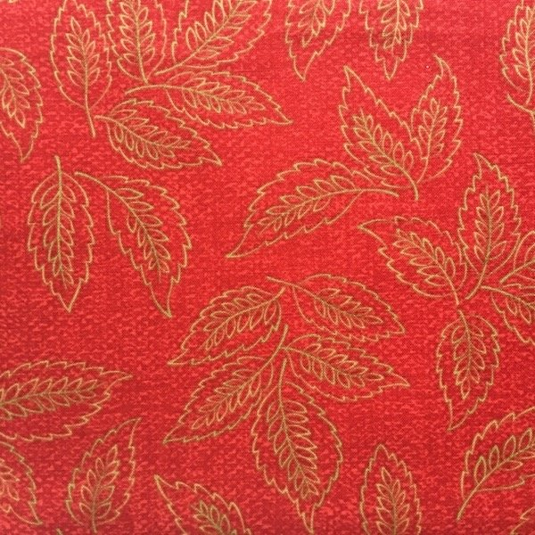 Woodland Summer - Leaves - Red