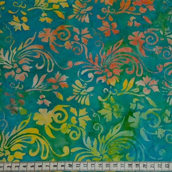 Anthology Batik - Bright Yellow & Blue Print