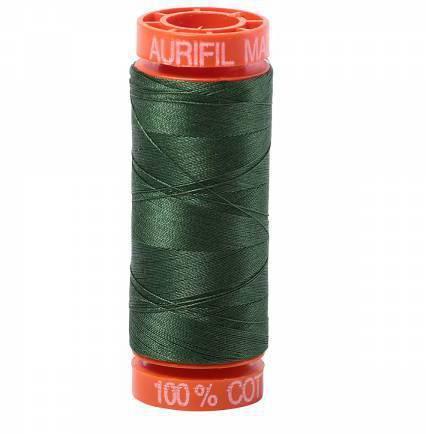 Aurifil Cotton Mako' 50 - 2892 - Pine 200m