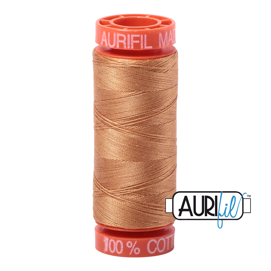 Aurifil Cotton Mako' 50 - 2930 - Golden Toast 200m