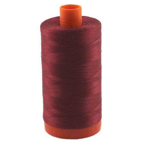 Aurifil Cotton Mako' 50 - 1103 - Burgundy