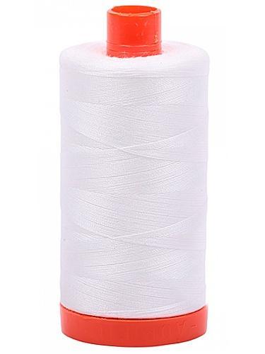 Aurifil Cotton Mako' 50 - 2021 - Natural White