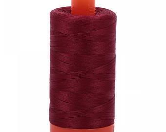 Aurifil Cotton Mako' 50 - 2460 - Dark Carmine Red