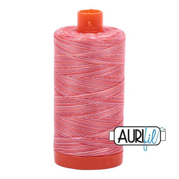 Aurifil Cotton Mako' 50 - 4668 - Strawberry Parfait