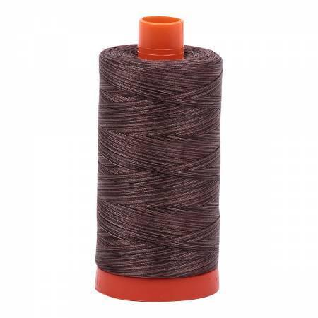 Aurifil Cotton Mako' 50 - 4671 - Mocha Mousse - Variegated