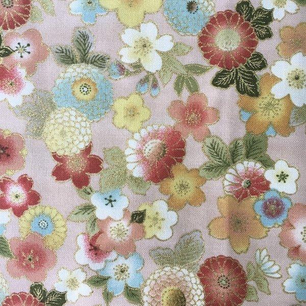 Sevenberry Oriental - Floral - Peach