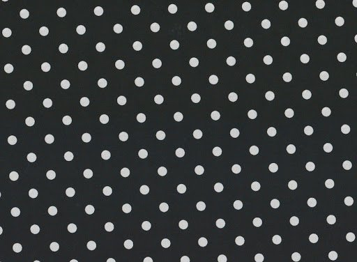 Medium Dot - White on Black
