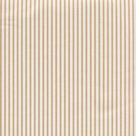 Sevenberry Stripe - Beige and White