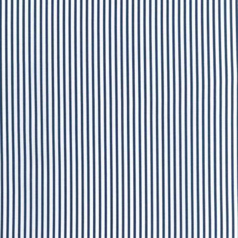Sevenberry Stripe - Navy and White