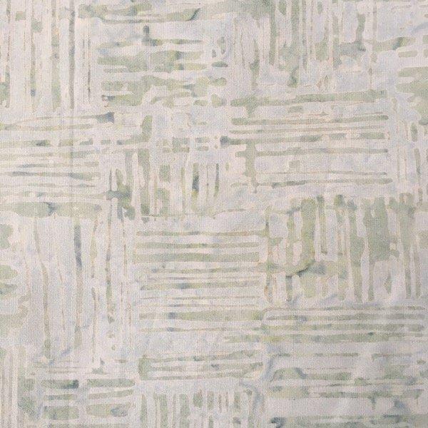 Anthology Batik - Crosshatch - Sea Green