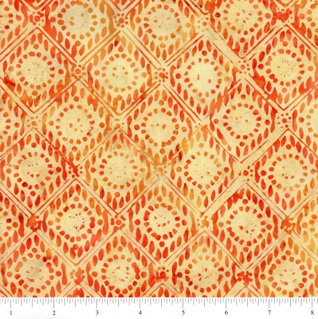 Anthology Batik - Orange Diamonds