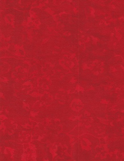 Batik Red - 1 metre Pre-Cut