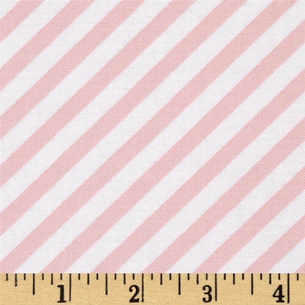 Diagonal Stripe - Pink - Steppin' Out