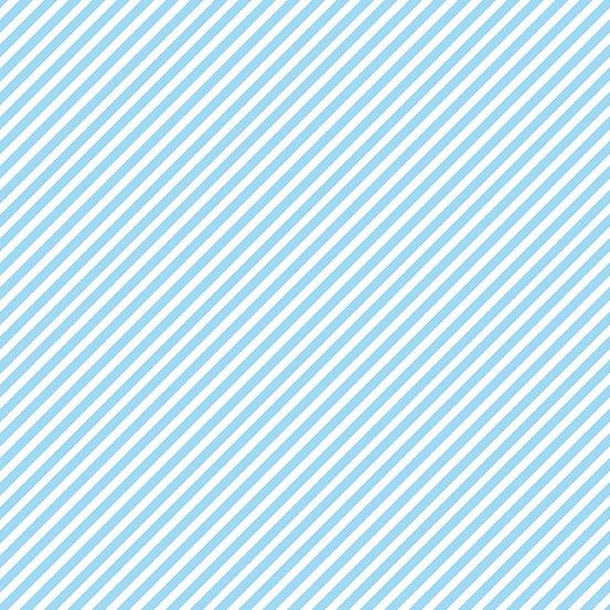 Sweet Shoppe - Candy Stripe - Baby Blue
