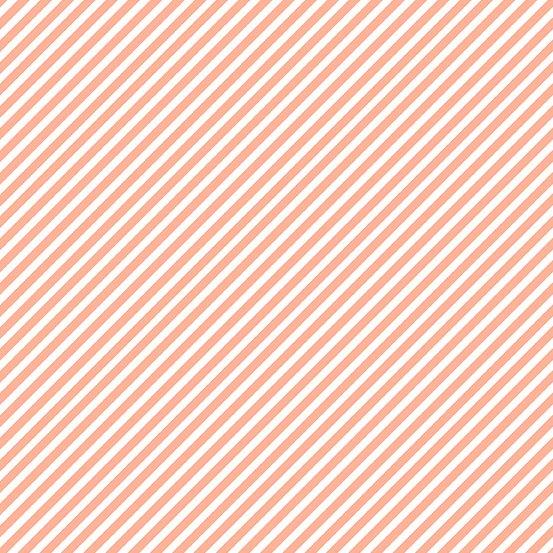 Sweet Shoppe - Candy Stripe - Grapefruit