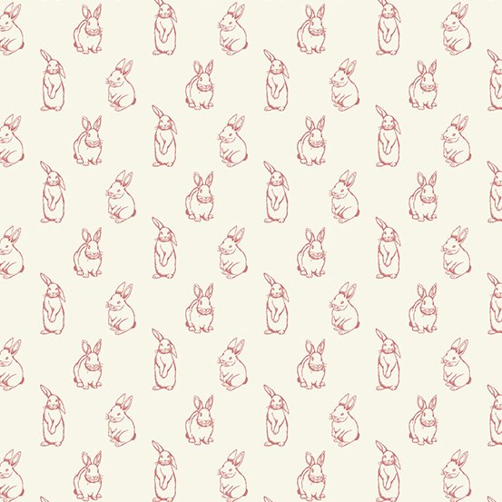 Watts River - Bunnies - Red