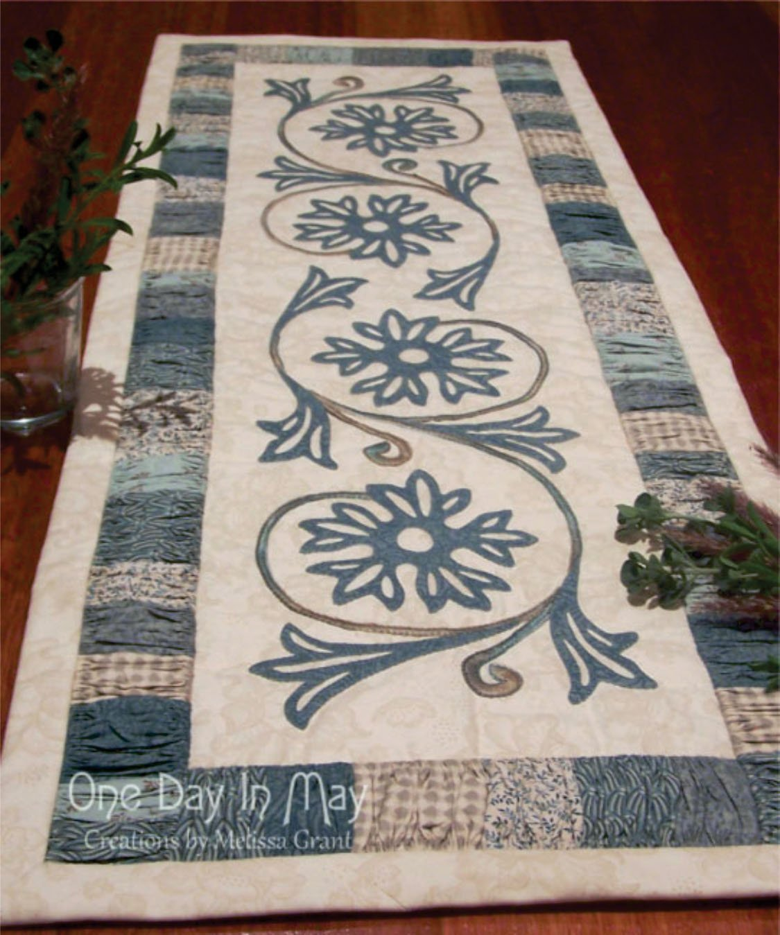 A Cornflower Gathering Pattern