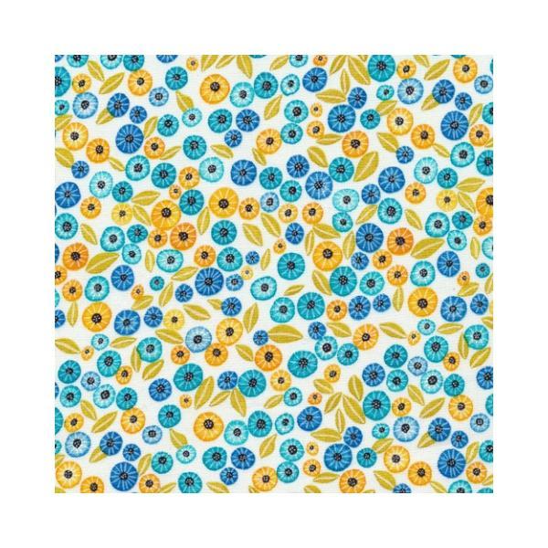 Alegria Blooms in Blue