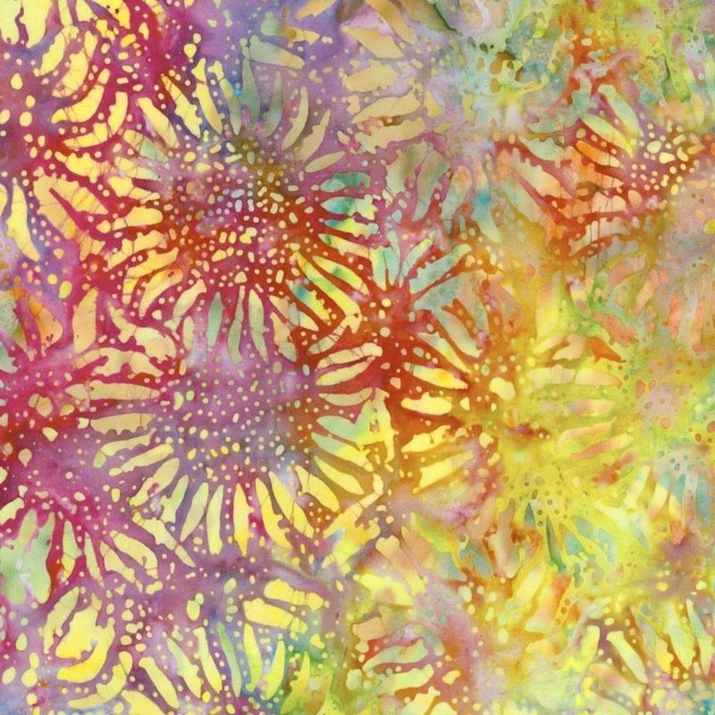 Batik - Anthology Rainbow Bursts - 108 Wide