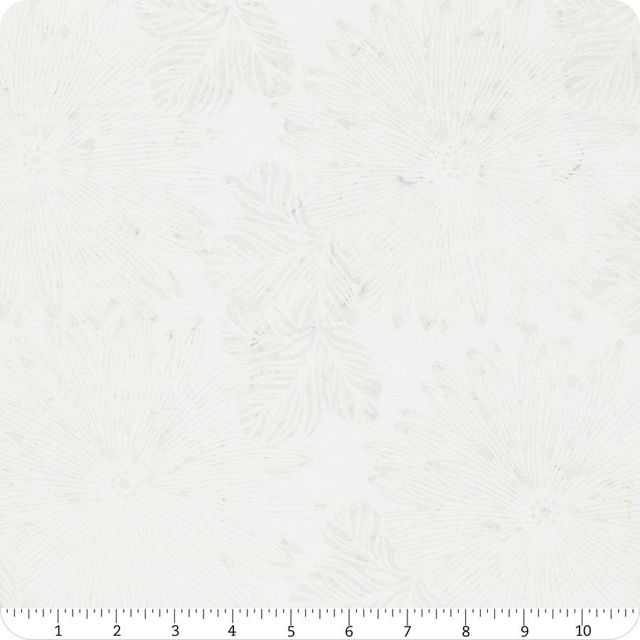 Hoffman Aquarius Batik - Big Tropical - Snow