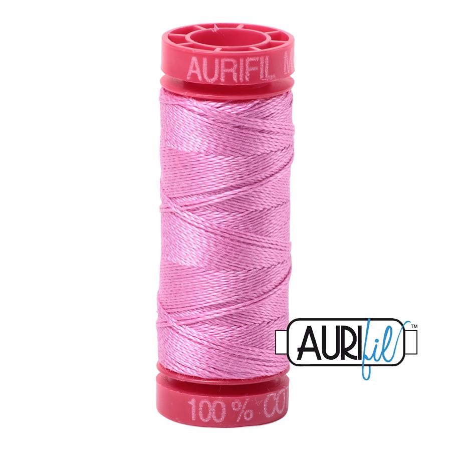 Aurifil Cotton Mako' 12 - 2479 - Med Orchid - 200m