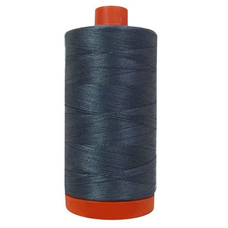 Aurifil Cotton Mako' 50 - 1158 - Medium Grey