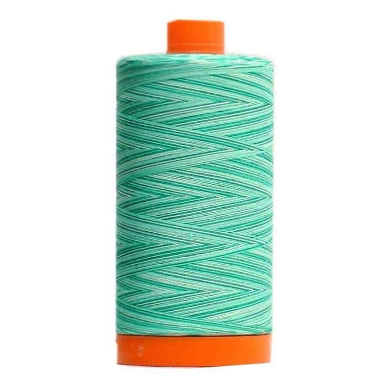 Aurifil Cotton Mako' 50 - 4654 - Seamist Variegated
