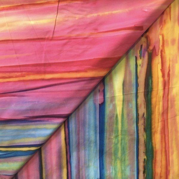 Batik - Bargello - Bright Rainbow - 108
