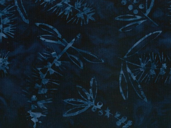 Batik - Australian Bottle Brush Blue - 108 Wide