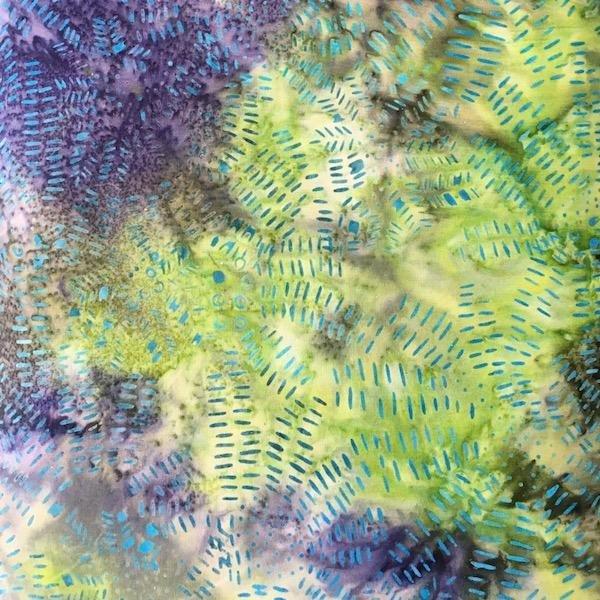 Batik - Teal & Blue 108Wide