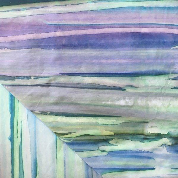 Batik - Bargello - Sea Blues - 108
