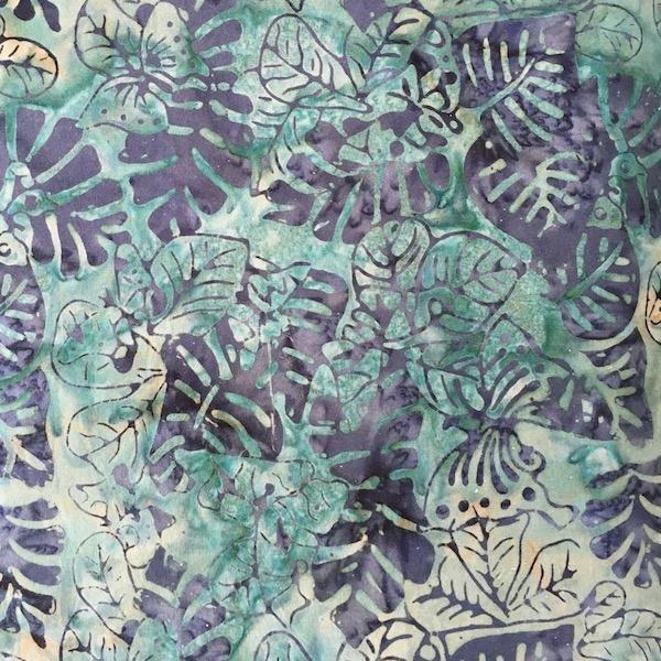 Batik - Jungle Leaves - 108 Wide