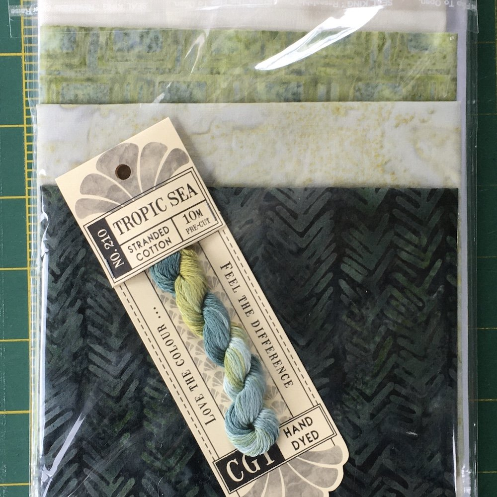 Botanical Dreaming Bell Pull Kit - GREEN