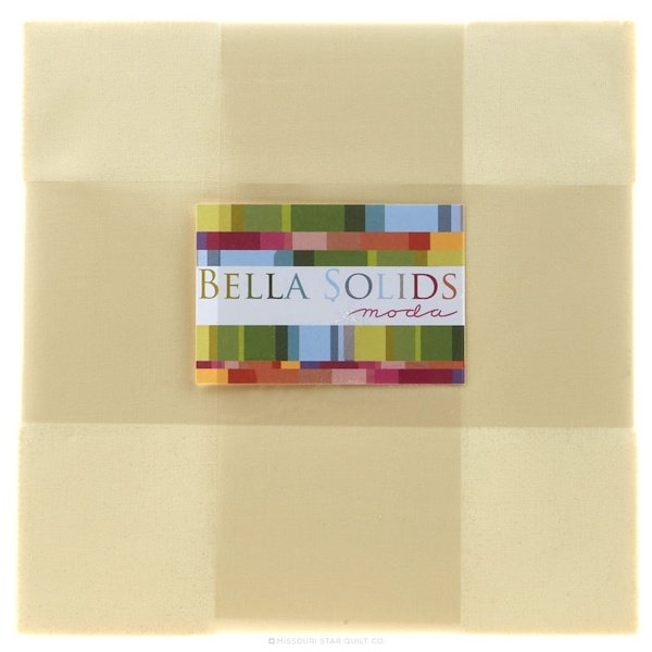 Bella Solids Layer Cake - Snow