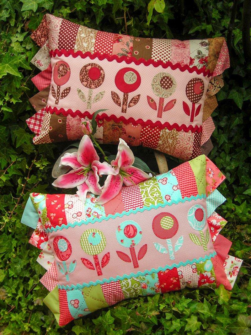 Bloomers Cushion Pattern