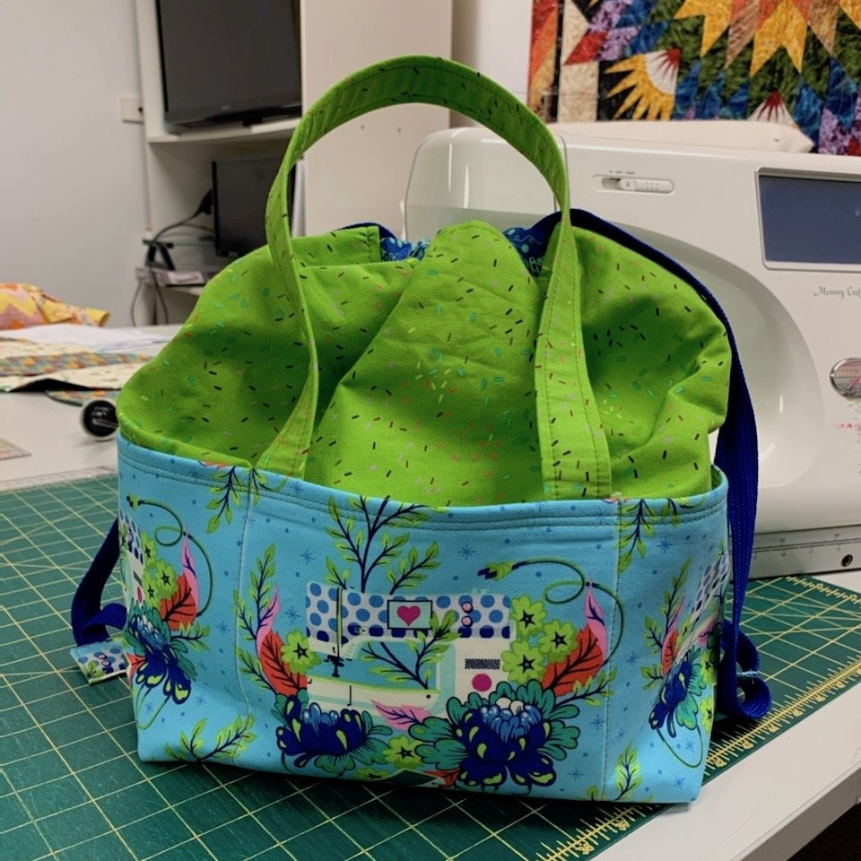 Homemade - Project Drawstring Tote Bag Kit