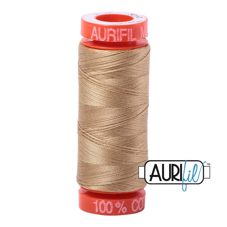 Aurifil Cotton Mako' 50 - 5010 - Beige 200m