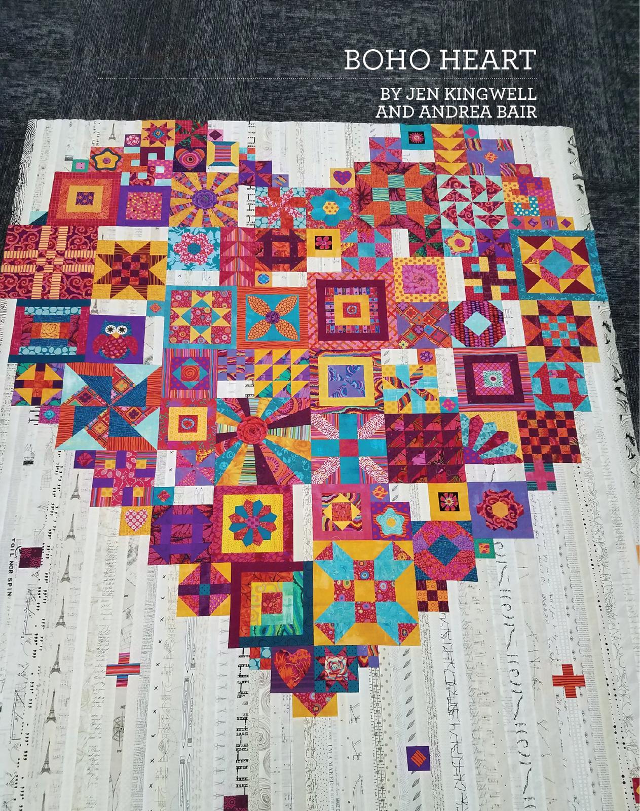 Boho Heart - Pattern Book