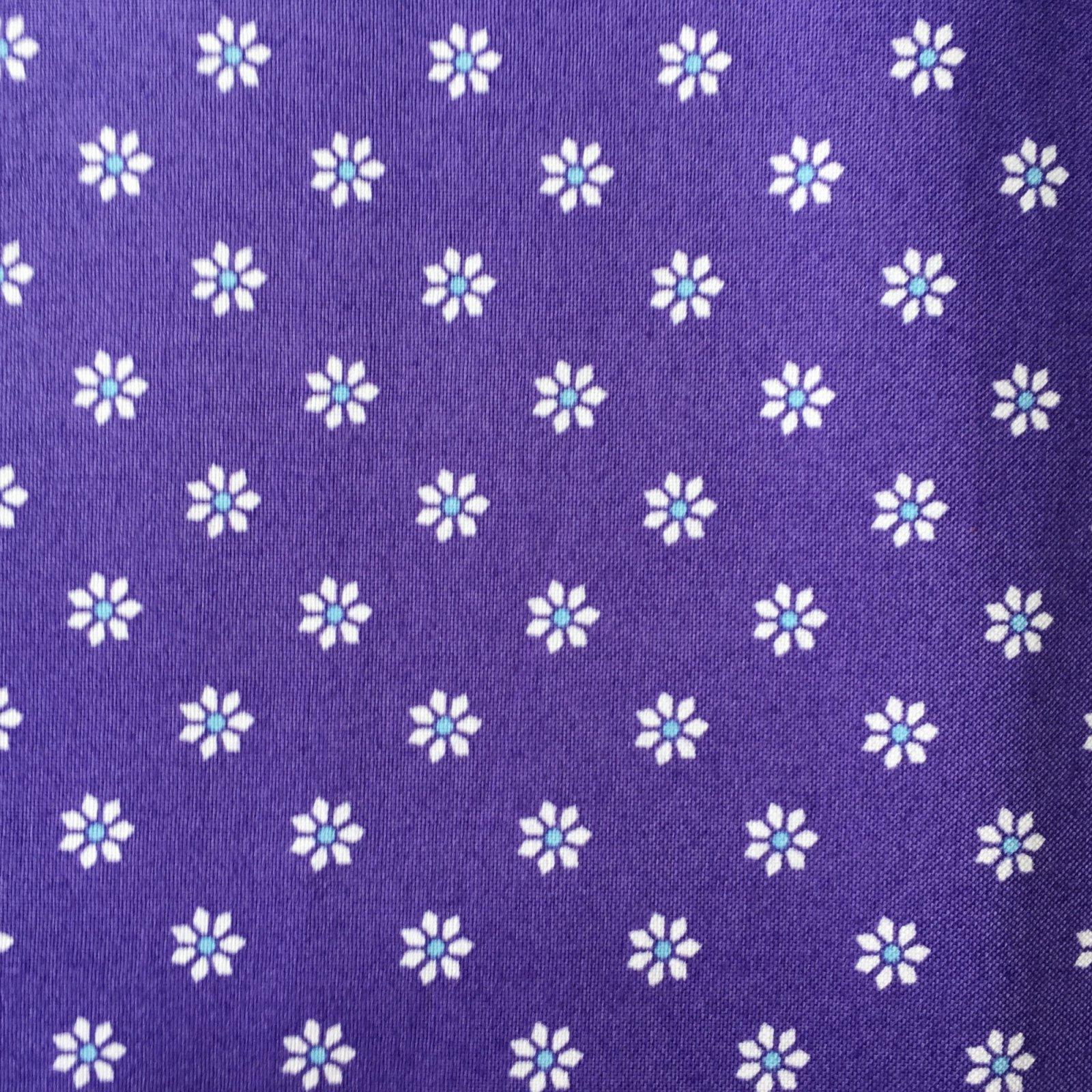 Bombay Flowers - Bright Purple