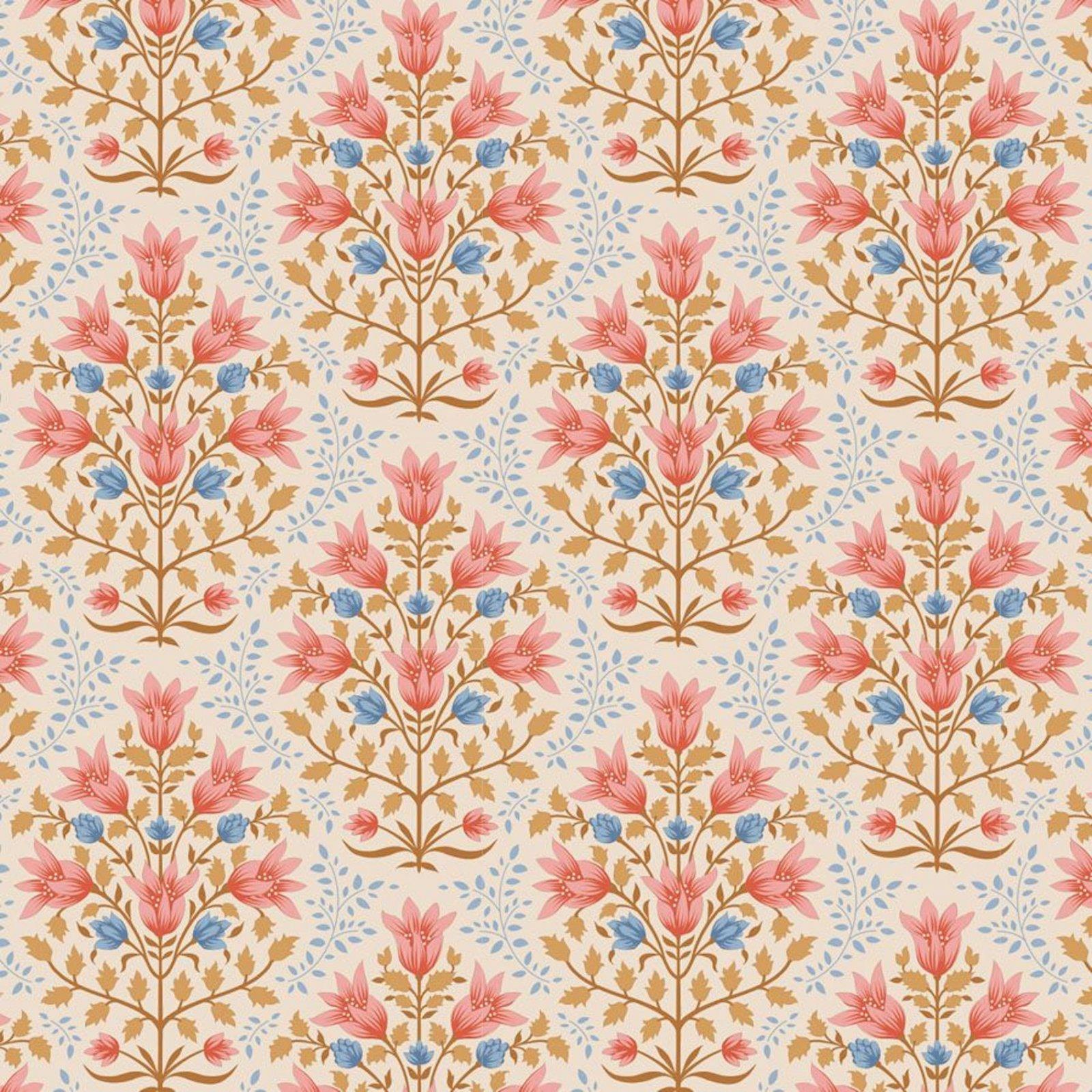 PRE-ORDER  - Tilda - Windy Days - Breeze Floral Coral