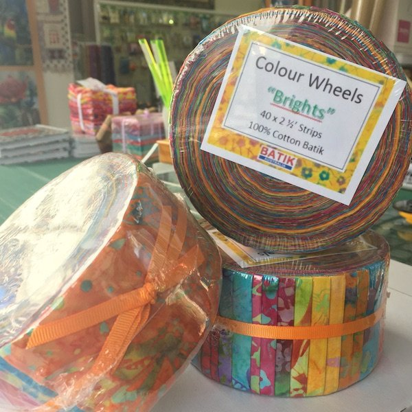 Batik Colour Wheels - Brights