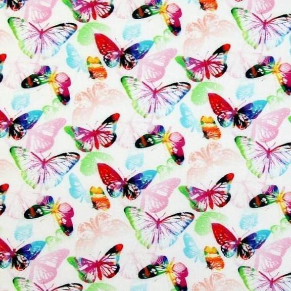 Legere Butterflies - 63 Wide Cotton
