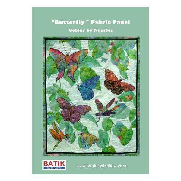 Butterfly Panel - Colour by Numbers Kit
