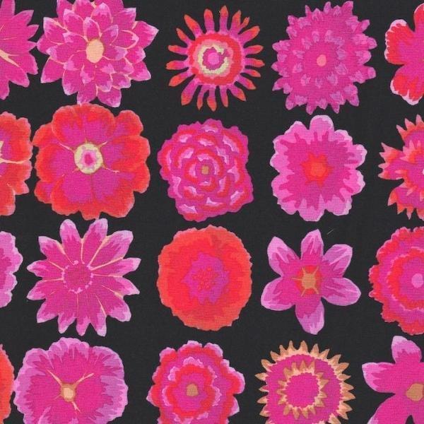 Kaffe Fassett - Button Flowers - Black