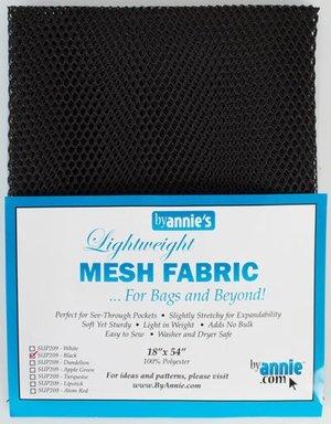 Mesh Fabric Lightweight Black