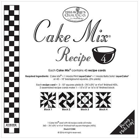 Cake Mix Recipe FOUR